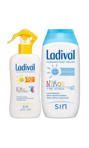 LADIVAL NIÑOS FOTOPROTECTOR FPS 50/ AFTER SUN PA